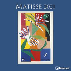 Matisse 2021 – Wand-Kalender – Broschüren-Kalender – 30×30 – 30×60 geöffnet – Kunst-Kalender von Matisse,  Henri
