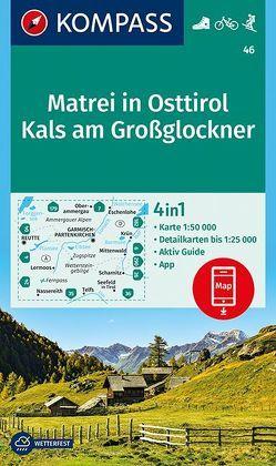 KOMPASS Wanderkarte Matrei in Osttirol, Kals am Großglockner von KOMPASS-Karten GmbH