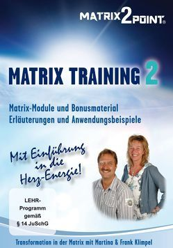 MATRIX TRAINING 2 von Indergand,  Peter