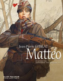 Matteo Band 5 von Gibrat,  Jean-Pierre, Schott,  Eckart
