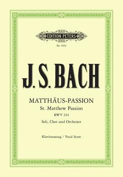 Matthäus-Passion von Bach,  Johann Sebastian, Ochs,  Siegfried, Soldan,  Kurt