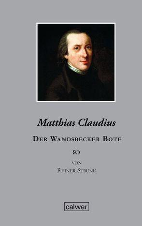 Matthias Claudius von Strunk,  Reiner