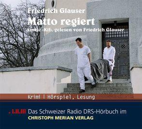 Matto regiert von Glauser,  Friedrich