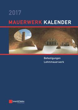 Mauerwerk-Kalender / Mauerwerk-Kalender 2017 von Jäger,  Wolfram