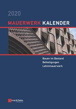 Mauerwerk-Kalender / Mauerwerk-Kalender 2020 von Jäger,  Wolfram