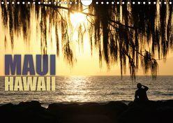Maui, Hawaii (Wandkalender 2019 DIN A4 quer) von Schmidt,  Daniel