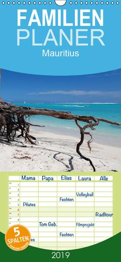 Mauritius – Familienplaner hoch (Wandkalender 2019 , 21 cm x 45 cm, hoch) von Amler,  Thomas