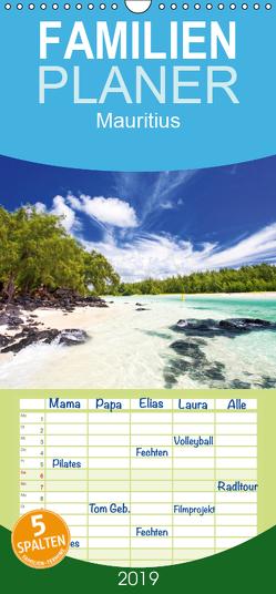 Mauritius – Familienplaner hoch (Wandkalender 2019 , 21 cm x 45 cm, hoch) von Sturm,  Jenny