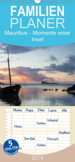 Mauritius – Momente einer Insel – Familienplaner hoch (Wandkalender 2019 , 21 cm x 45 cm, hoch) von Klinder,  Thomas