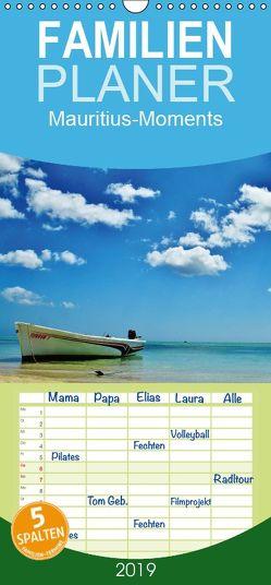 Mauritius – Moments – Familienplaner hoch (Wandkalender 2019 , 21 cm x 45 cm, hoch) von Schlimm,  Holger