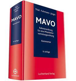 MAVO – Kommentar zur Rahmenordnung für eine Mitarbeitervertretungsordnung von Fuhrmann,  Martin, Jüngst,  Manfred, Thiel,  Adolf