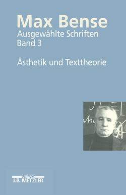 Max Bense von Kreuzer,  Helmut, Walther,  Elisabeth