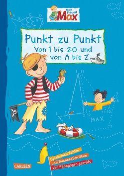 Max Blaue Reihe: Mein Freund Max – Punkt zu Punkt von Bonnet,  Heidrun, Kraushaar,  Sabine, Paul,  Brigitte