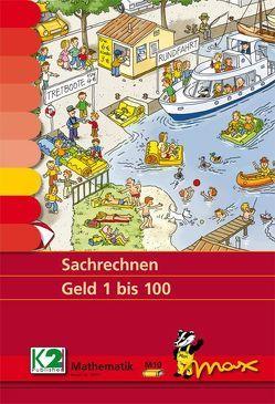 Max-Lernkarten: Sachrechnen Geld 1 bis 100