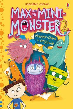 Max und die Mini-Monster: Monster-Chaos in der Schule (Bd. 2) von Davidson,  Zanna, Williamson,  Melanie