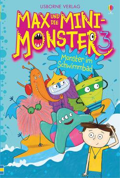 Max und die Mini-Monster: Monster im Schwimmbad von Davidson,  Zanna, Williamson,  Melanie