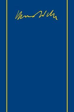 Max Weber-Gesamtausgabe von Aldenhoff-Hübinger,  Rita, Gerhards,  Thomas, Oßwald-Bargende,  Sybille, Weber,  Max