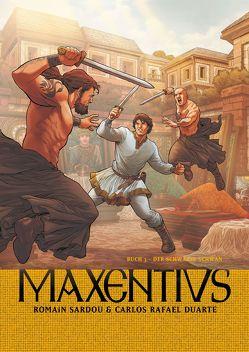 Maxentius von Duarte,  Carlos Rafael, Sardou,  Romain, Steffes-Halmer,  Annabelle