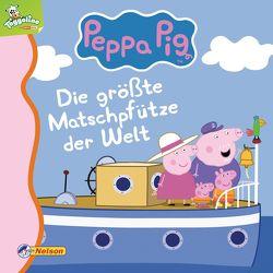 Maxi-Mini 47: Peppa: Die größte Matschpfütze der Welt von Korda,  Steffi