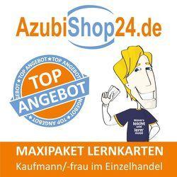 Maxi-Paket Lernkarten Kaufmann / Kauffrau im Einzelhandel von Grünwald,  Jochen, Radost,  Kurt, Rung-Kraus,  Michaela
