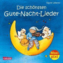 Maxi Pixi 2: Die schönsten Gute-Nacht-Lieder von Leberer,  Sigrid
