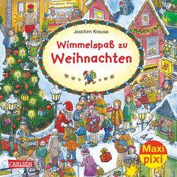 Maxi Pixi 214: VE 5 Wimmelspaß zu Weihnachten (5 Exemplare) von Krause,  Joachim