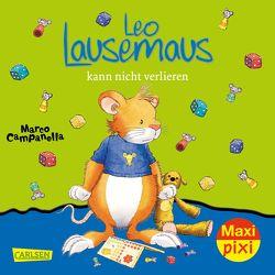 Maxi Pixi 262: VE 5 Leo Lausemaus kann nicht verlieren (5 Exemplare) von Campanella,  Marco, Casalis,  Anna