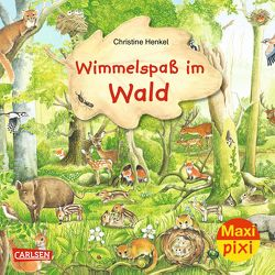 Maxi Pixi 282: VE 5 Wimmelspaß im Wald (5 Exemplare) von Henkel,  Christine