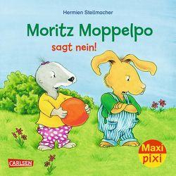 Maxi Pixi 292: Moritz Moppelpo sagt Nein von Stellmacher,  Hermien