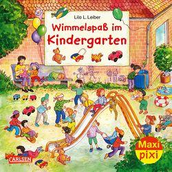 Maxi Pixi 296: Wimmelspaß im Kindergarten von Leiber,  Lila L.