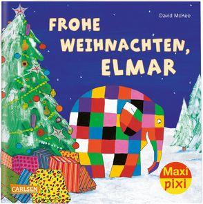 Maxi Pixi 299: VE 5 Frohe Weihnachten, Elmar! (5 Exemplare) von McKee,  David