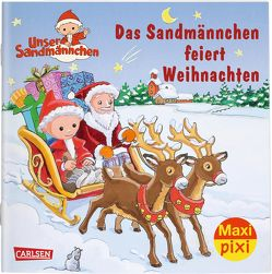 Maxi Pixi 300: Das Sandmännchen feiert Weihnachten von Flad,  Antje, Nettingsmeier,  Simone