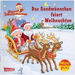 Maxi Pixi 300: VE 5 Das Sandmännchen feiert Weihnachten (5 Exemplare) von Flad,  Antje, Nettingsmeier,  Simone