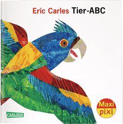 Maxi Pixi 303: VE 5 Eric Carles Tier-ABC (5 Exemplare) von Carle,  Eric, Jacoby,  Edmund