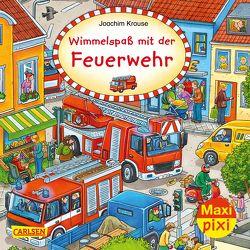 Maxi Pixi 319: Wimmelspaß mit der Feuerwehr von Krause,  Joachim