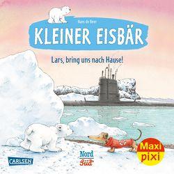 Maxi Pixi 332: Kleiner Eisbär: Lars, bring uns nach Hause! von de Beer,  Hans
