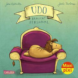 Maxi Pixi 336: VE 5 Udo braucht Personal (5 Exemplare) von Heinicke,  Jana, Tourlonias,  Joelle