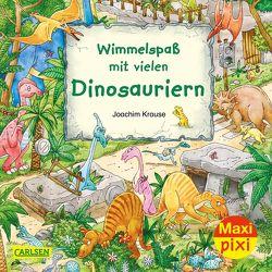 Maxi Pixi 337: Wimmelspaß mit vielen Dinosauriern von Krause,  Joachim