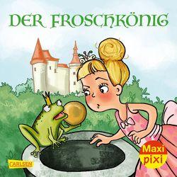 Maxi Pixi 339: Der Froschkönig von Grimm Brüder, Hardt,  Iris