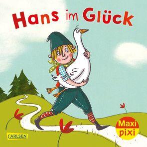 Maxi Pixi 340: VE 5: Hans im Glück (5 Exemplare) von Grimm Brüder, Straßer,  Susanne