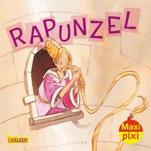 Maxi Pixi 341: Rapunzel von Grimm Brüder, Raidt,  Gerda
