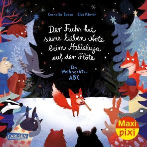 Maxi Pixi 354: Der Fuchs hat seine lieben Nöte beim Halleluja auf der Flöte von Boese,  Cornelia, Klever,  Elsa