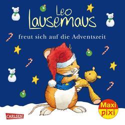 Maxi Pixi 366: VE 5 Leo Lausemaus freut sich auf die Adventszeit (5 Exemplare) von Campanella,  Marco, Diverse