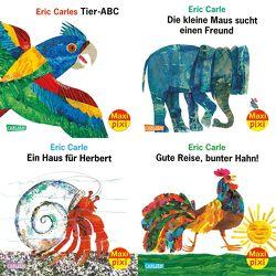 Maxi-Pixi-4er-Set 74: Eric Carle 90. Geburtstag (4×1 Exemplar) von Carle,  Eric