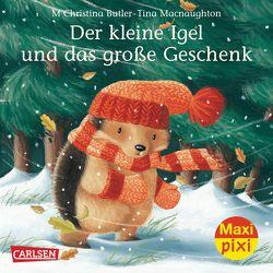 Maxi-Pixi Nr. 141: Der kleine Igel und das große Geschenk von Butler,  M Christina, Macnaughton,  Tina