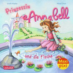 Maxi Pixi 181: Prinzessin Annabell und die Fische von Chen,  Nina, Flacke,  Uschi