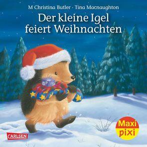 Maxi-Pixi Nr. 193: Der kleine Igel feiert Weihnachten von Butler,  M Christina, Macnaughton,  Tina