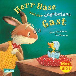 Maxi-Pixi Nr. 203: VE 5 Herr Hase und der ungebetene Gast von Smallman,  Steve, Warnes,  Tim