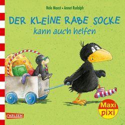 Maxi Pixi 230: Der kleine Rabe Socke kann auch helfen von Moost,  Nele, Rudolph,  Annet