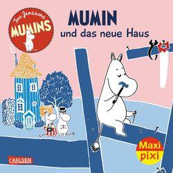 Maxi Pixi 235: Die Mumins: Mumin und das neue Haus von Jansson,  Tove, Kaarla,  Riina, Kaarla,  Sami, Kritzokat,  Elina